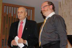 Yaakov and Radio personality  Art Raymond