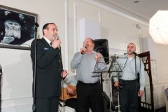 Yaakov in concert with Chief Cantor  of the IDF Shai Abramson and the  IDF Rabbinic Ensemble.